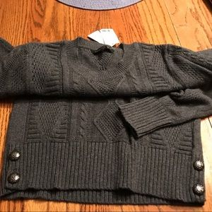 NWT cotton Sweater